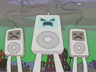 Ipods en los Simpsons
