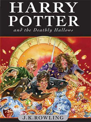 Harry Potter and the Deadly Hollows - Portada Inglesa para niños