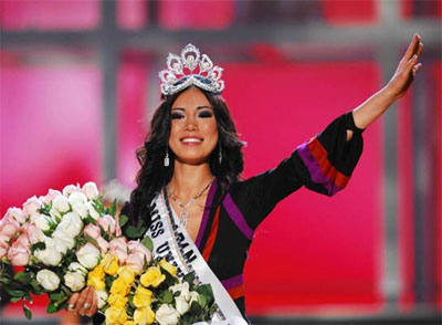 Final Miss Universo 2007 Riyo Mori