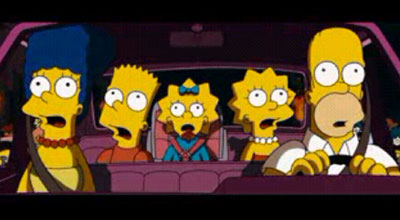 Trailer de los Simpson