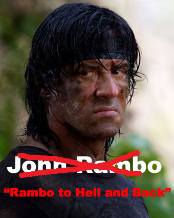 Rambo to Hell and Back