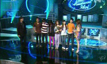 Eliminatorias 1er concierto latin american idol