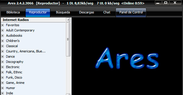 descargar ares windows 10 64 bits